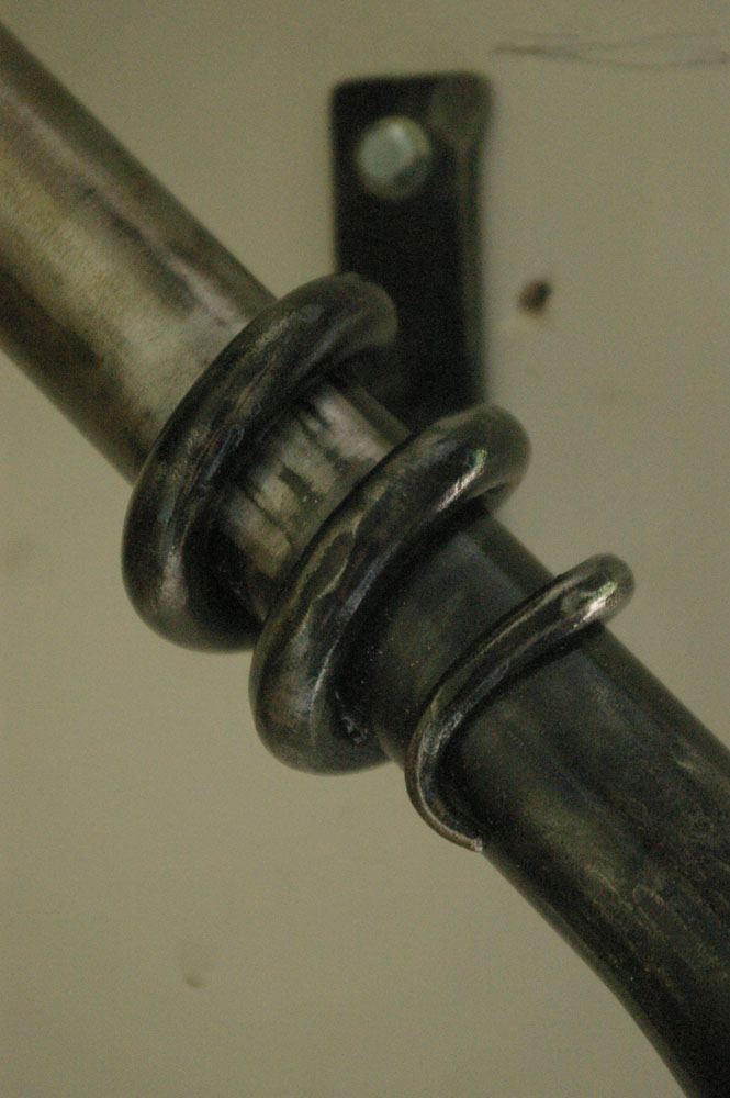 \'Wrapped\' handrail detail