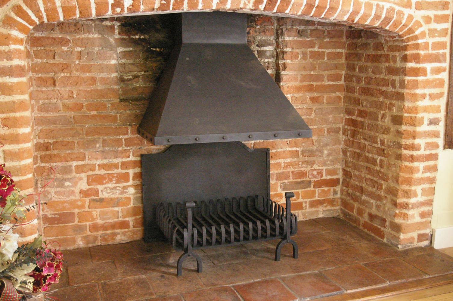 Inglenook fireplace restoration