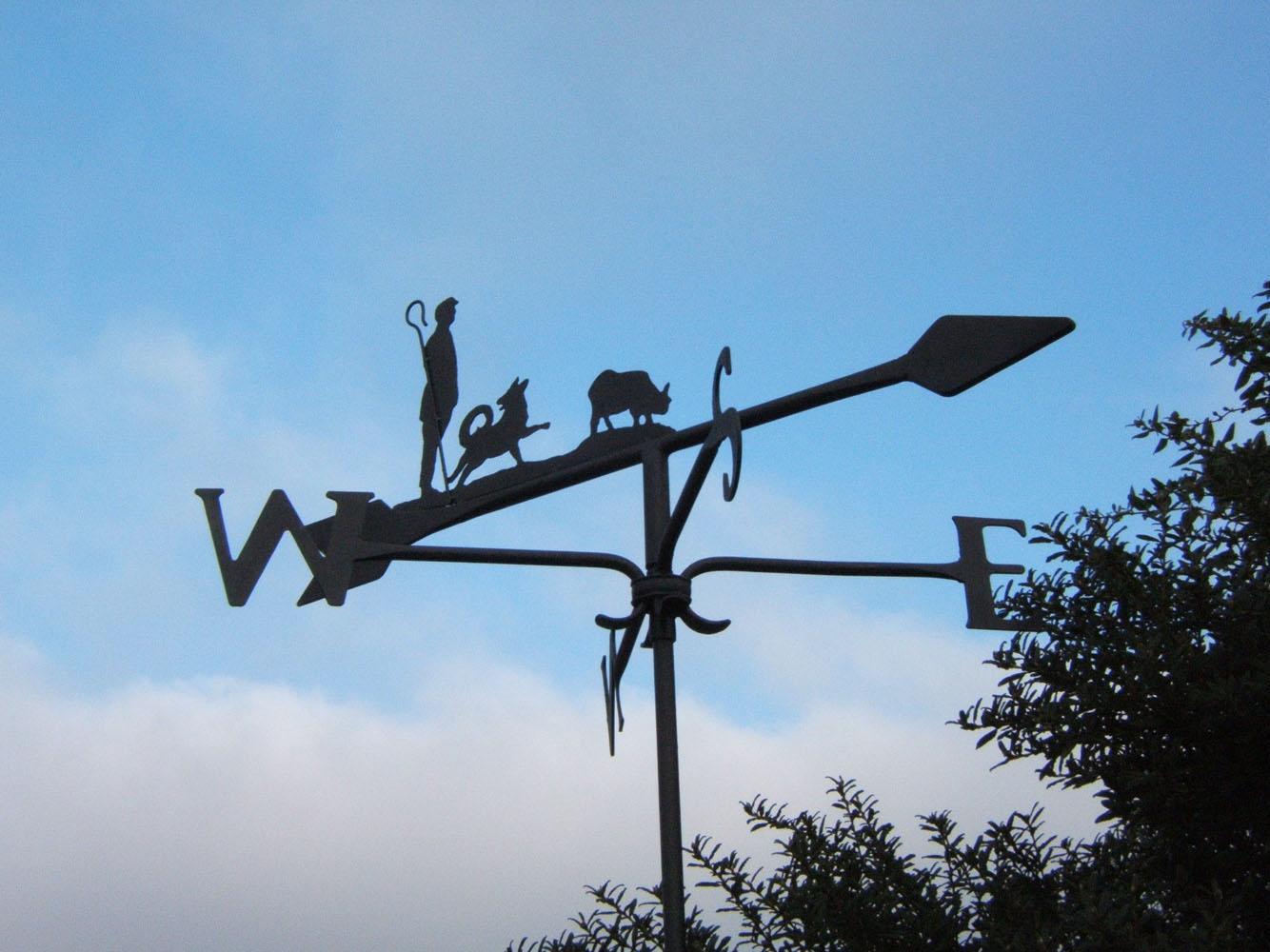 'Shepherd' weathervane