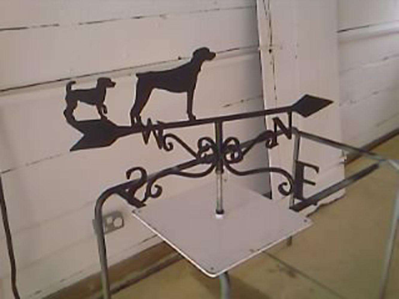 \'Dogs\' weathervane