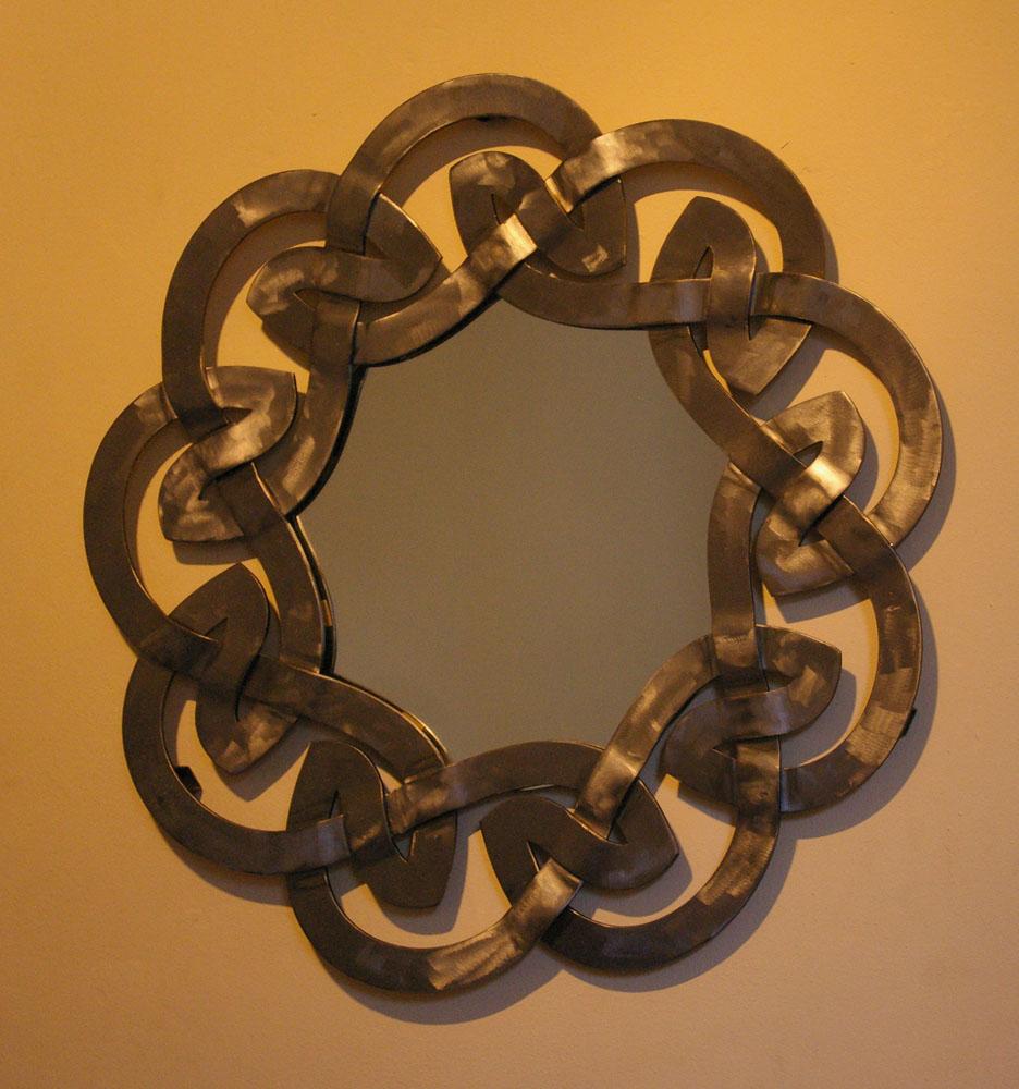 Celtic mirror