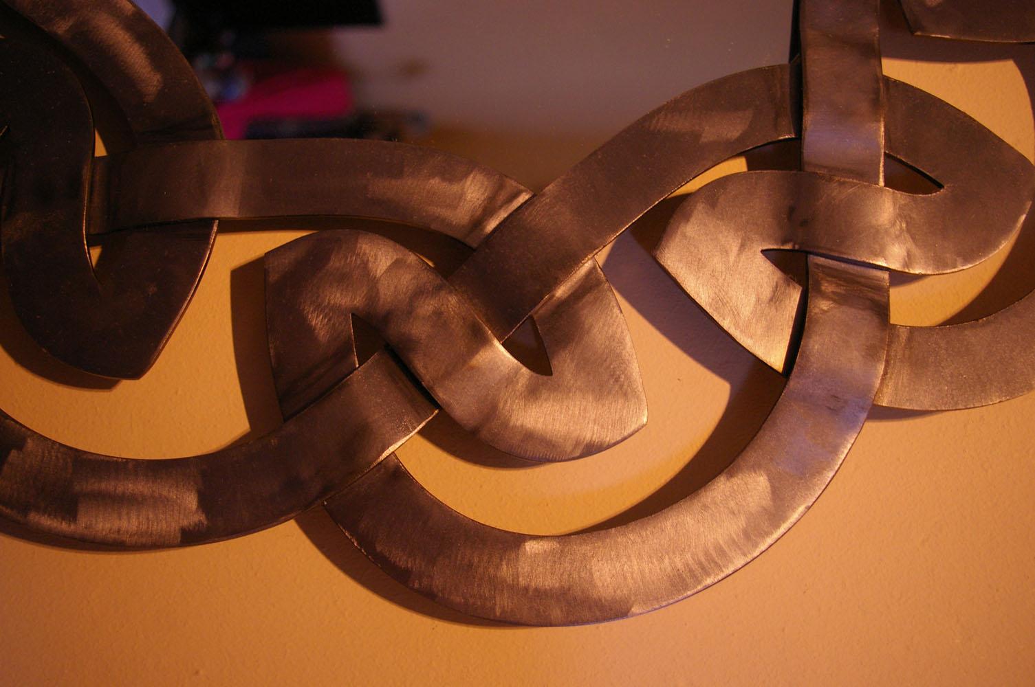 Celtic mirror - detail